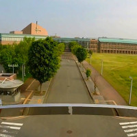 岩手県立大学を空撮動画