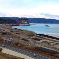 野田海岸を空撮動画