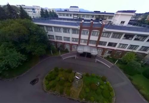 岩手大学工学部を空からモーションVR