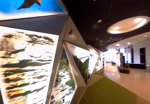 浄土ヶ浜ビジターセンターをモーションVR