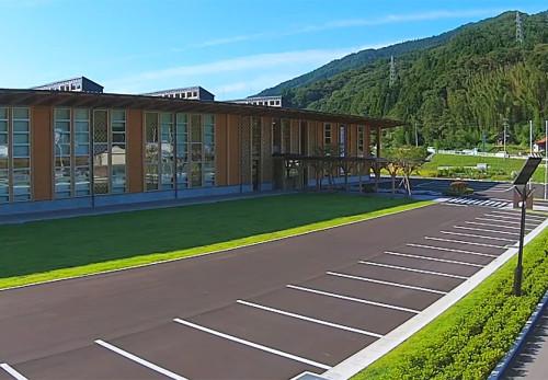 住田町役場新庁舎